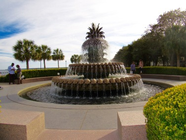 Pineapple Fountain @ Waterfront Park